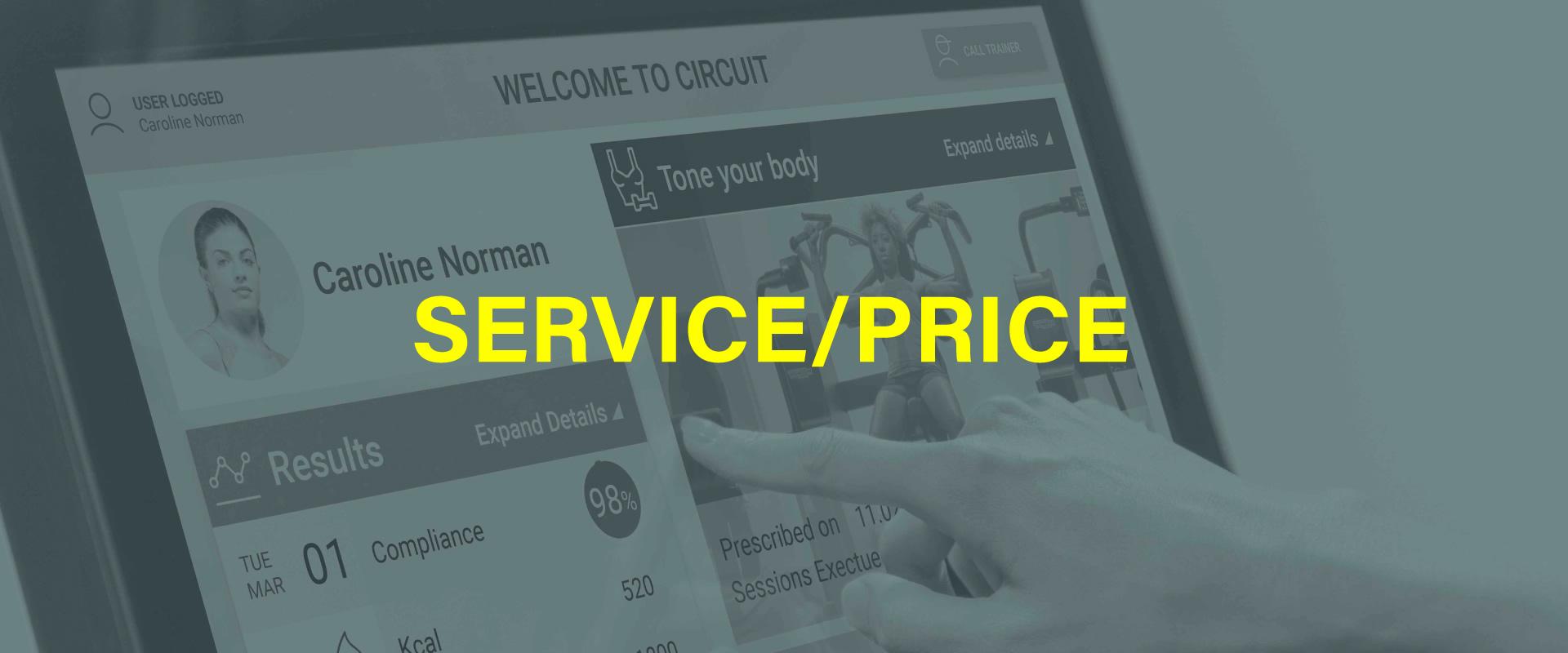 SERVICE/PRICE